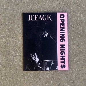 Image of Iceage Opening Nights catalogue