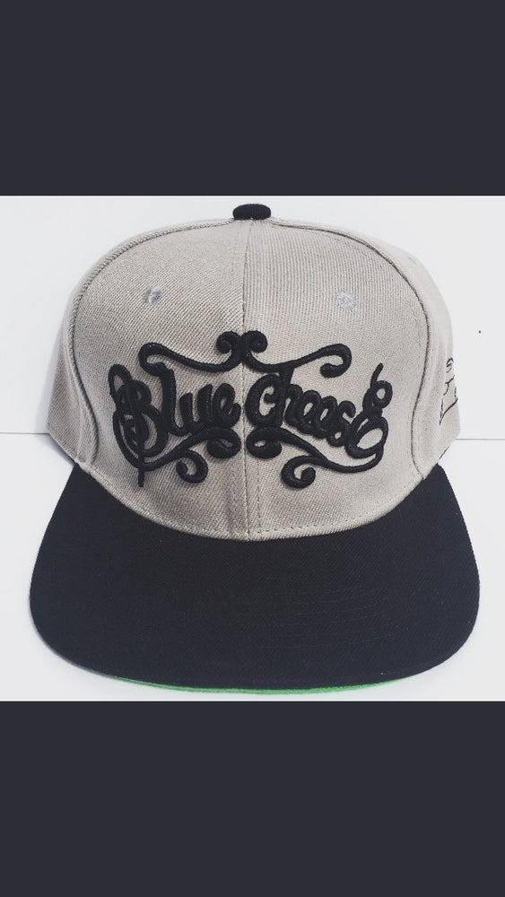 Image of BlueCheese Back 2 Basic Grey Snapback