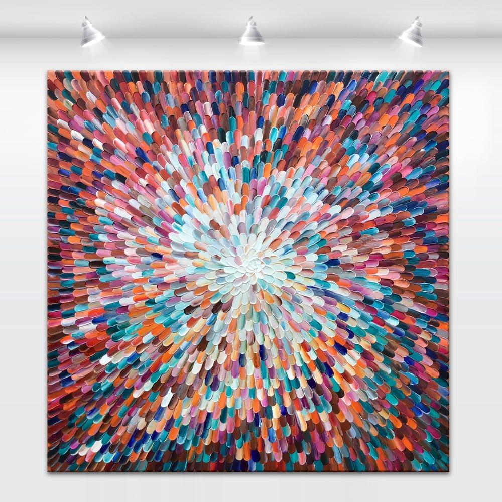 Image of Universum cypreus - 117x117cm