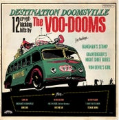 Image of OUT NOW. LP The Voo-Dooms : Destination Doomsville.  Ltd Edition Colour Splatter.