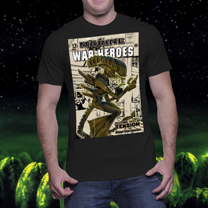 Image of BM Exclusive Chris Hamer Alien T shirt or Print