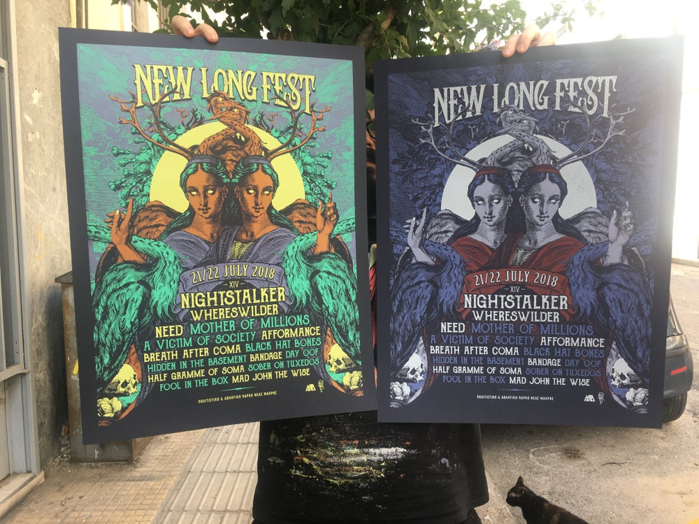 Image of New Long Fest '18 Poster