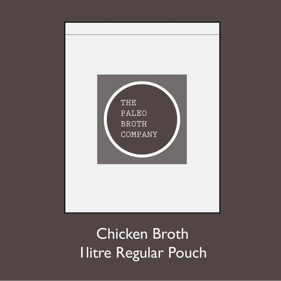 Image of Chicken Broth - A Monthly Subscription Special 3 x 1lr Pouches *Free Shipping*