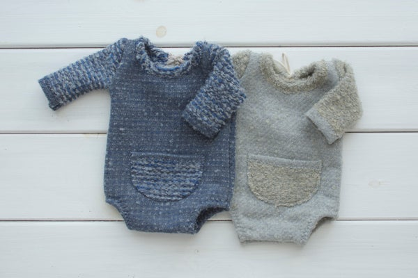 Image of Gavin  romper / two sizes / two options