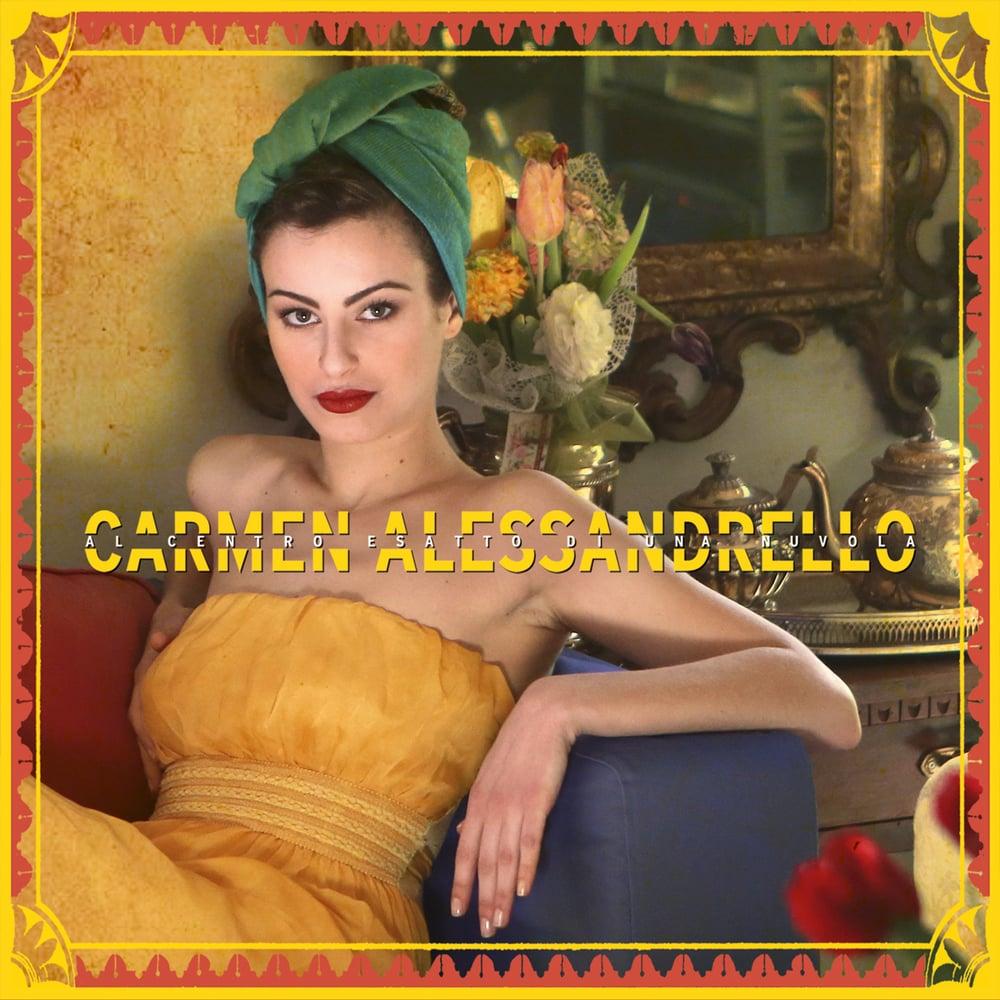 Image of CD - Al centro esatto di una nuvola - di Carmen Alessandrello