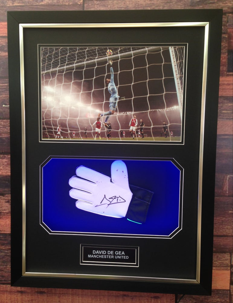 Image of Signed David De Gea glove