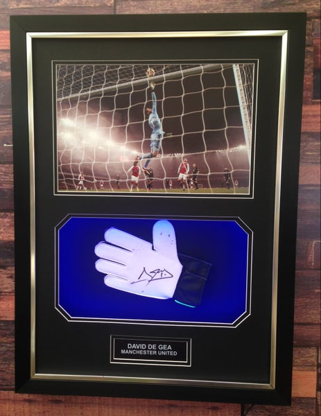 Image of Signed David De Gea glove