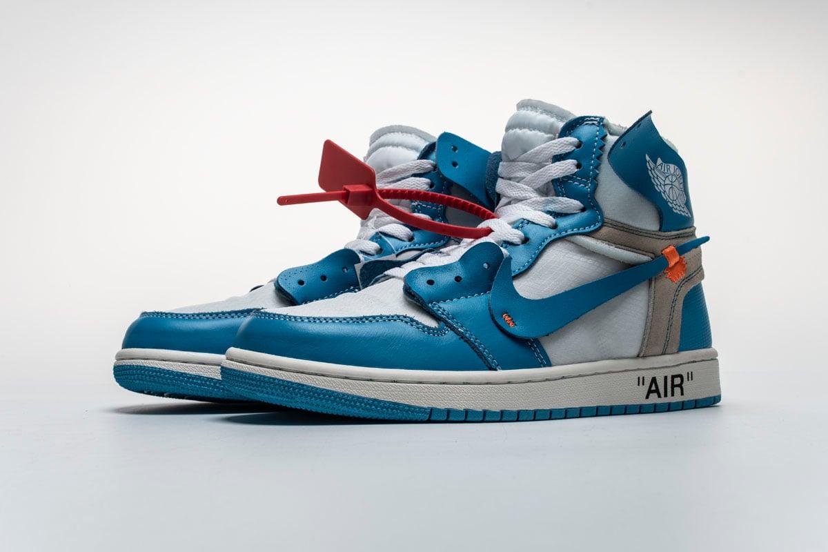 OFF WHITE x Air Jordan 1 UNC