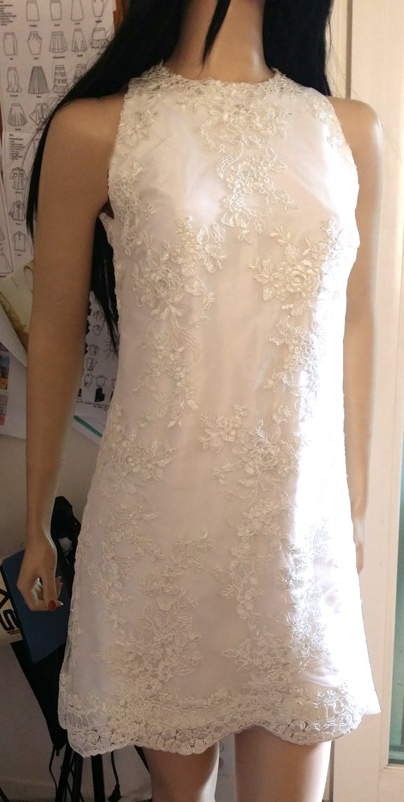Image of Cocktail Wedding Dress-Sample Sale