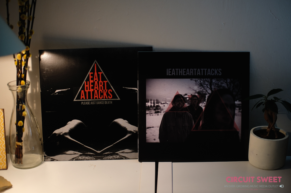 Image of IEatHeartAttacks – Please Just Dance Death LP