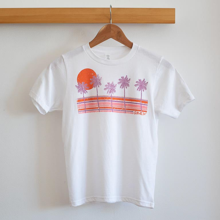Image of Unisex Kids GN4LW x Sunshine Canteen Palm Tree Tee