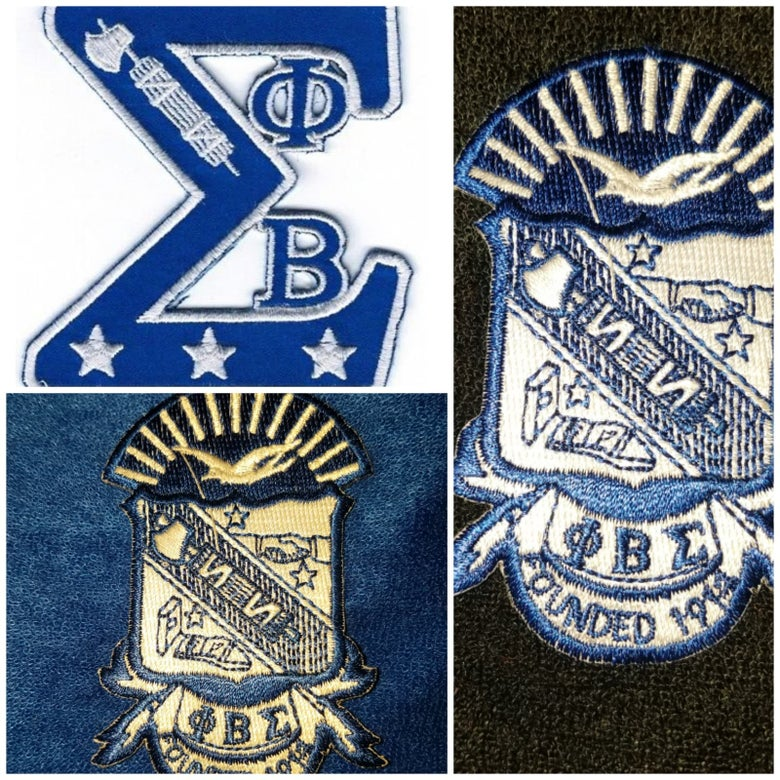 Image of Phi Beta Sigma Themed Towel Shorts