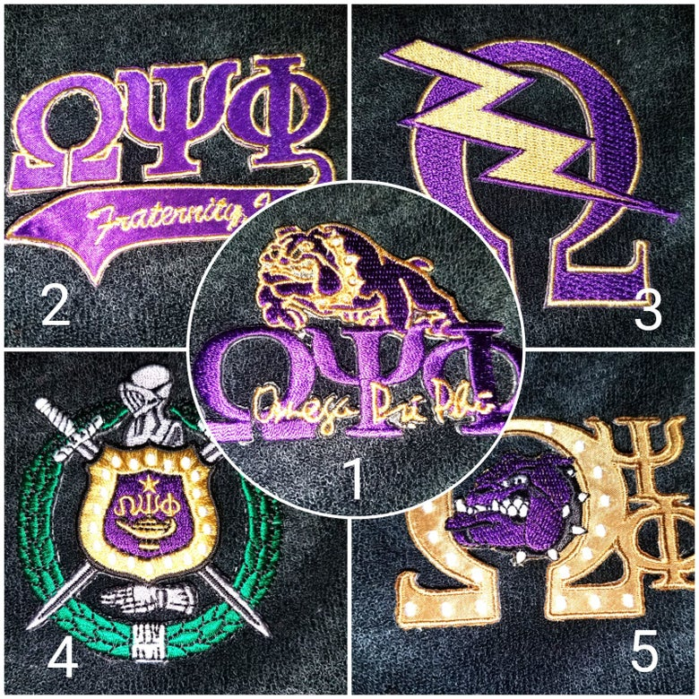Image of Omega Psi Phi Themed Shorts