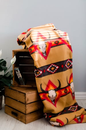 Image of Skulley Camp Blanket