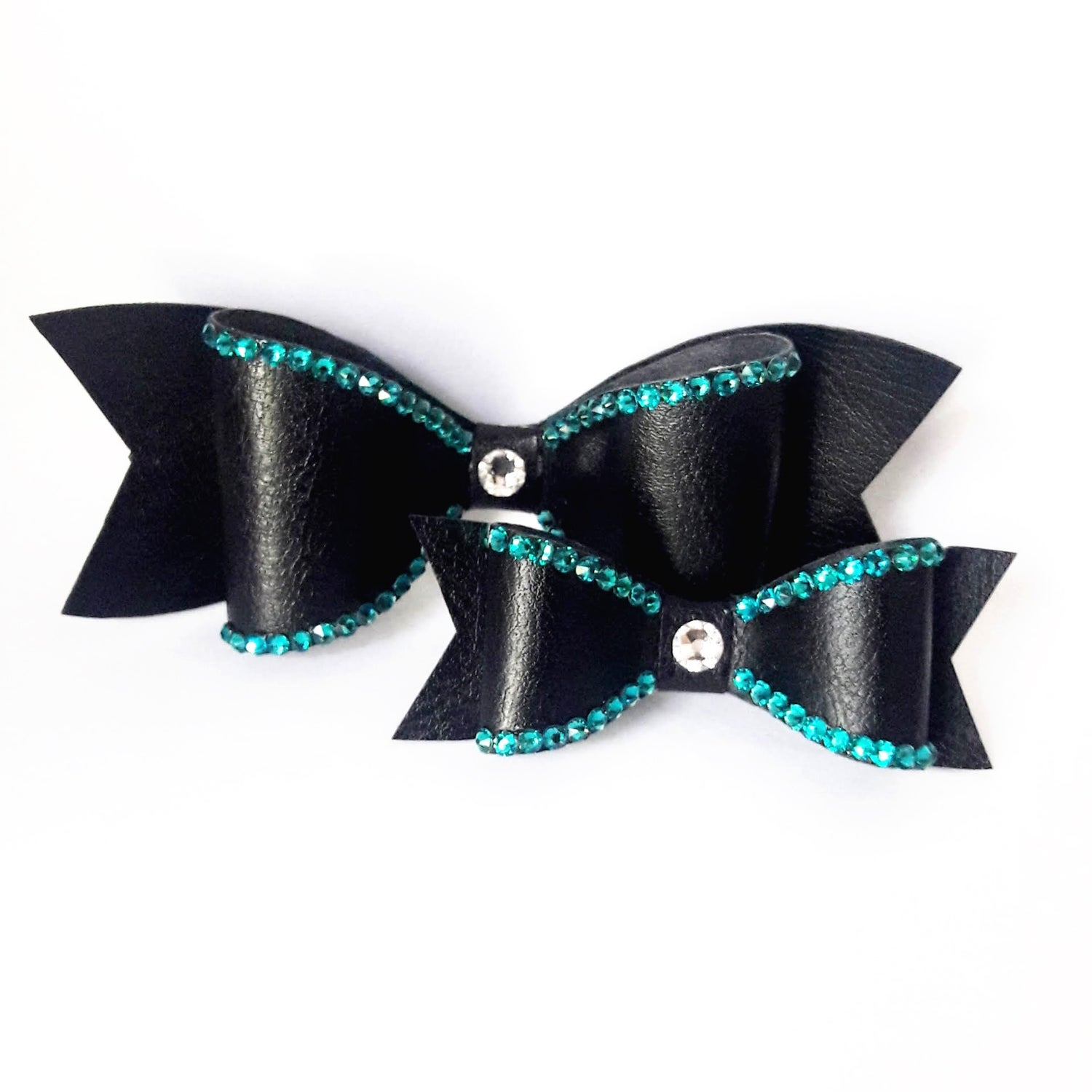"Image of ""Esmeralda"" Crystal Bling Hair Bow"