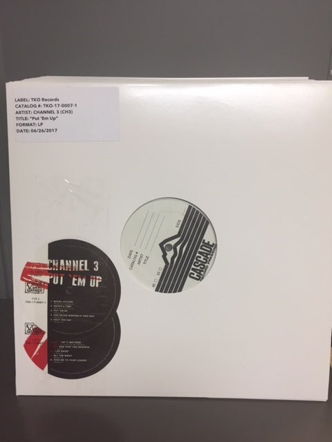 "Image of CH3 - ""Put 'Em Up"" LP TEST PRESSING"