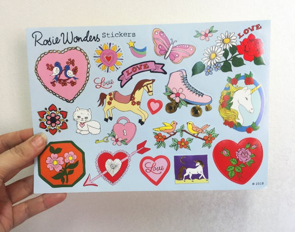 Image of Love Sticker Sheet