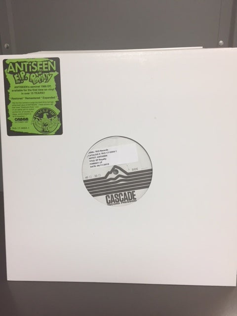 "Image of ANTiSEEN - ""EP Royalty"" LP TEST PRESSING"