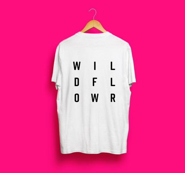 Image of Wildflower Tee - White