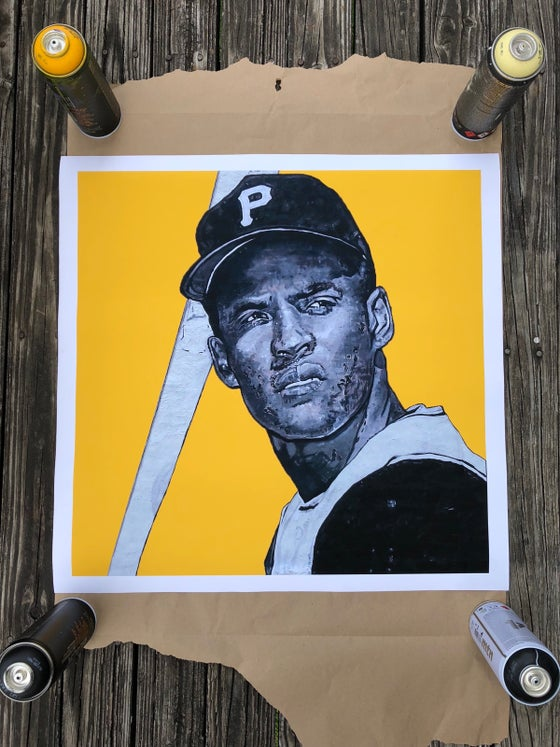 Image of Roberto Clemente Giclee