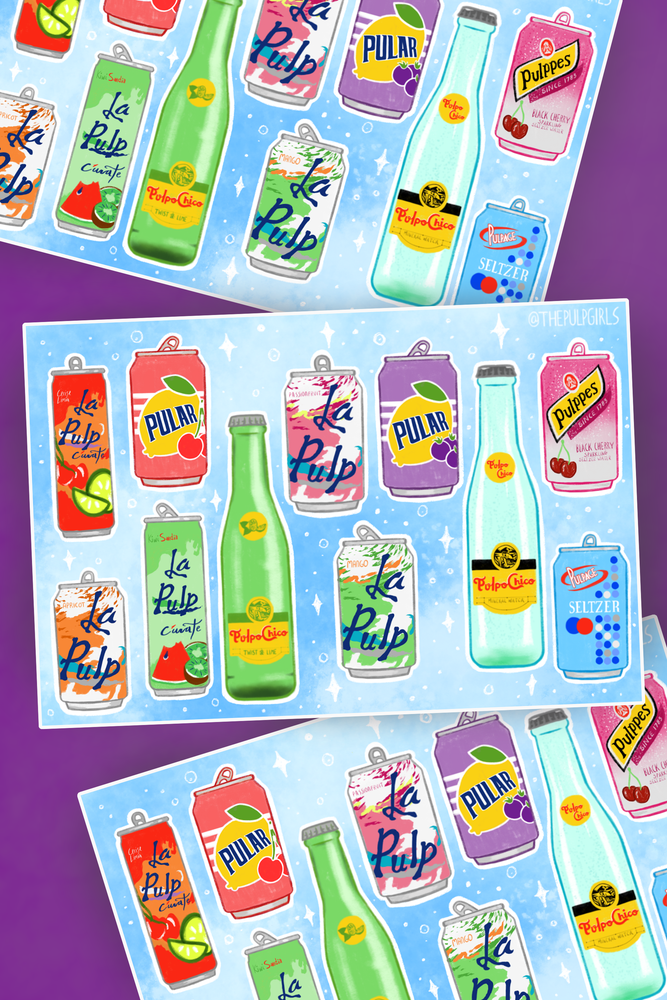 Image of I LOVE SELTZER STICKERS