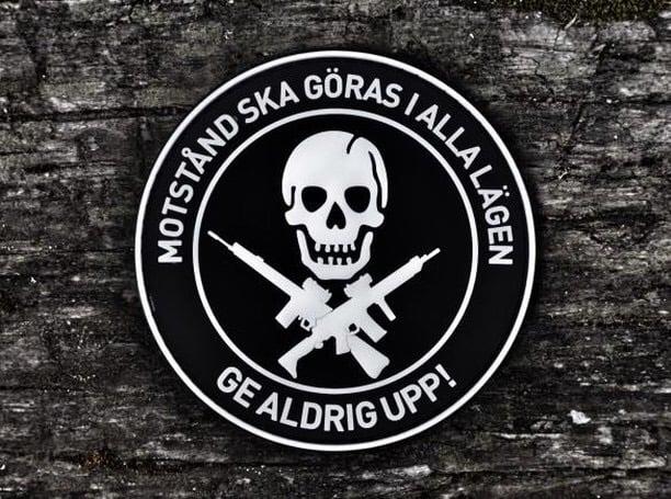 Image of GE ALDRIG UPP!