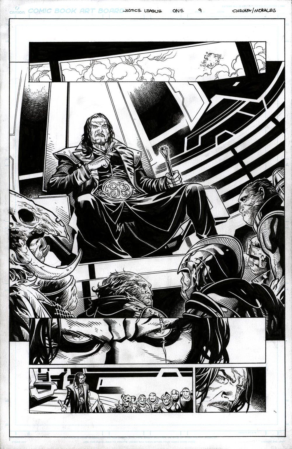 Image of JUSTICE LEAGUE #1 Page 09