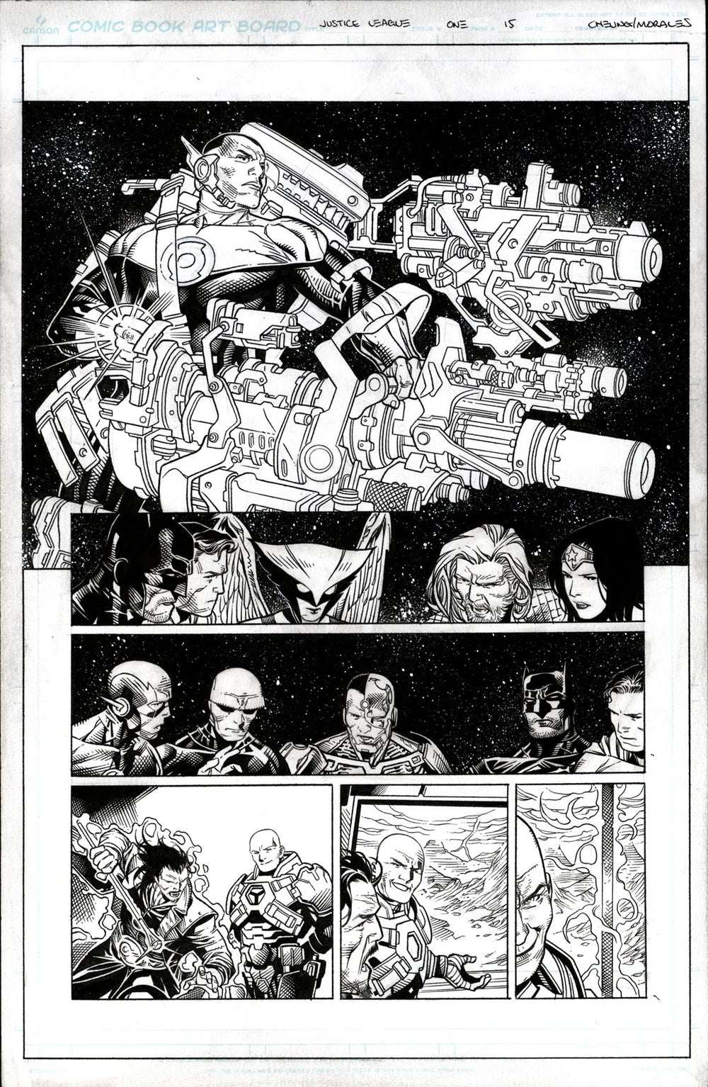 Image of JUSTICE LEAGUE #1 Page 15