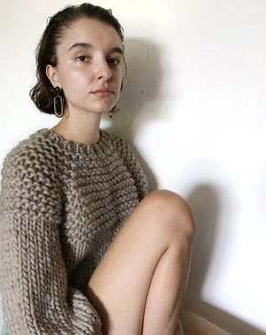 Image of Trefann Sweater (shown in Cordovan, more colours)