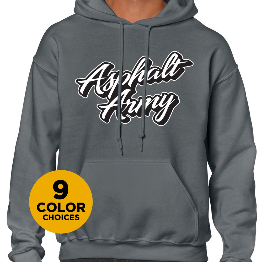 Image of Hoodie with CURSIVE Logo
