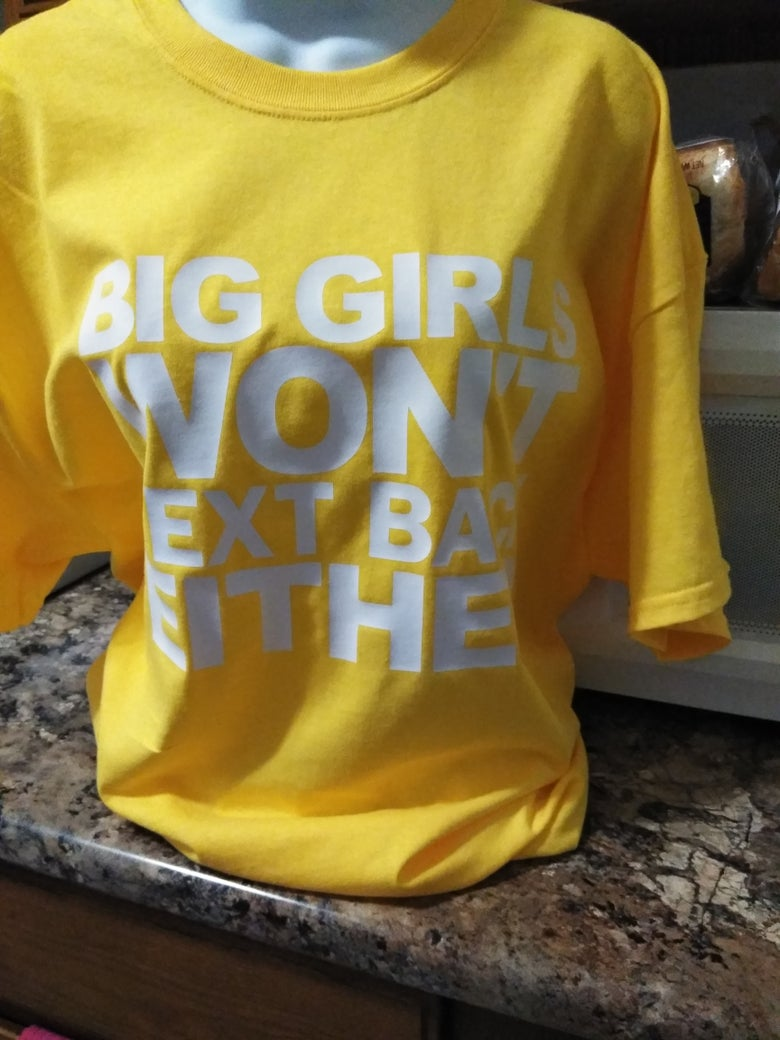 Image of BIG GIRLS YELLOW TEE