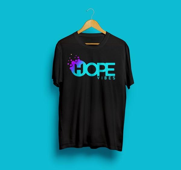 Image of Hope Vibes Logo - Black