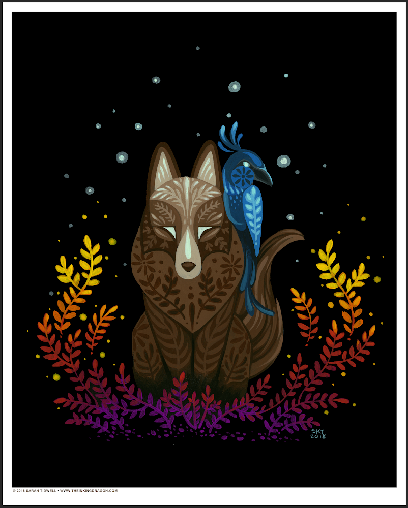 Image of The Mage and the Jay - Print