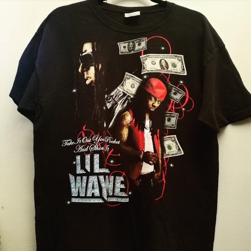 Image of Lil Wayne Graphic Vintage Shirt - Large