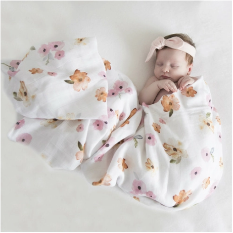 Image of Poppy Organic Muslin Wrap