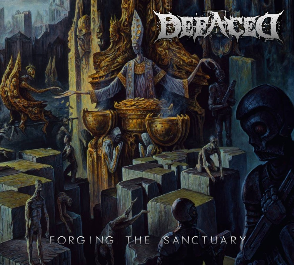 Image of Defaced - Forging The Sanctuary CD Digipack