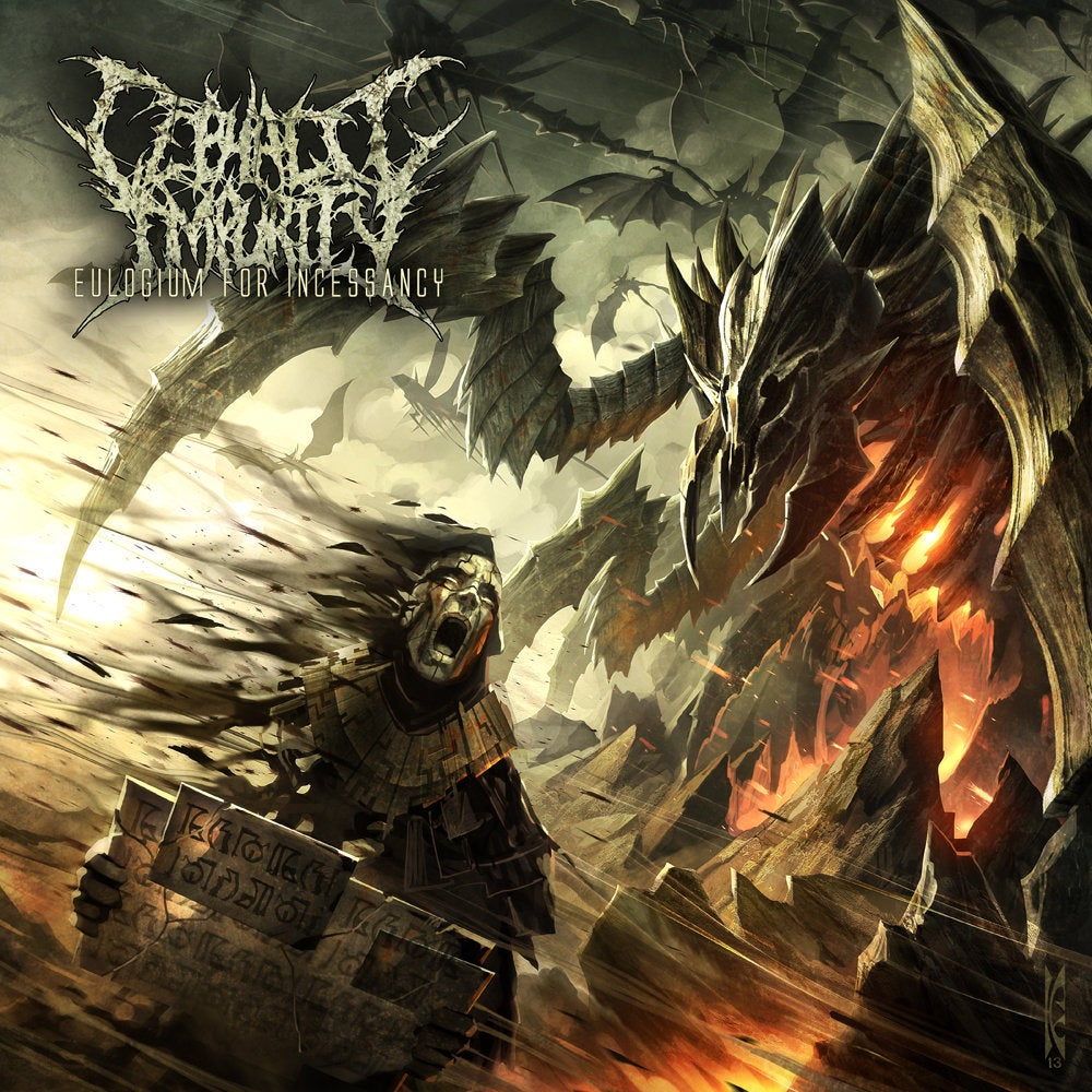 Image of Cephalic Impurity - Eulogium For Incessancy CD