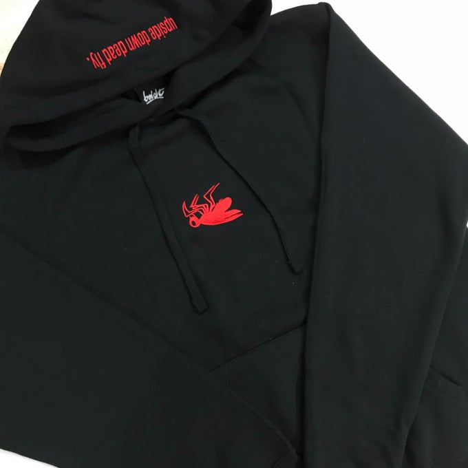 Image of BLOOD DRIP FLY HOODIE