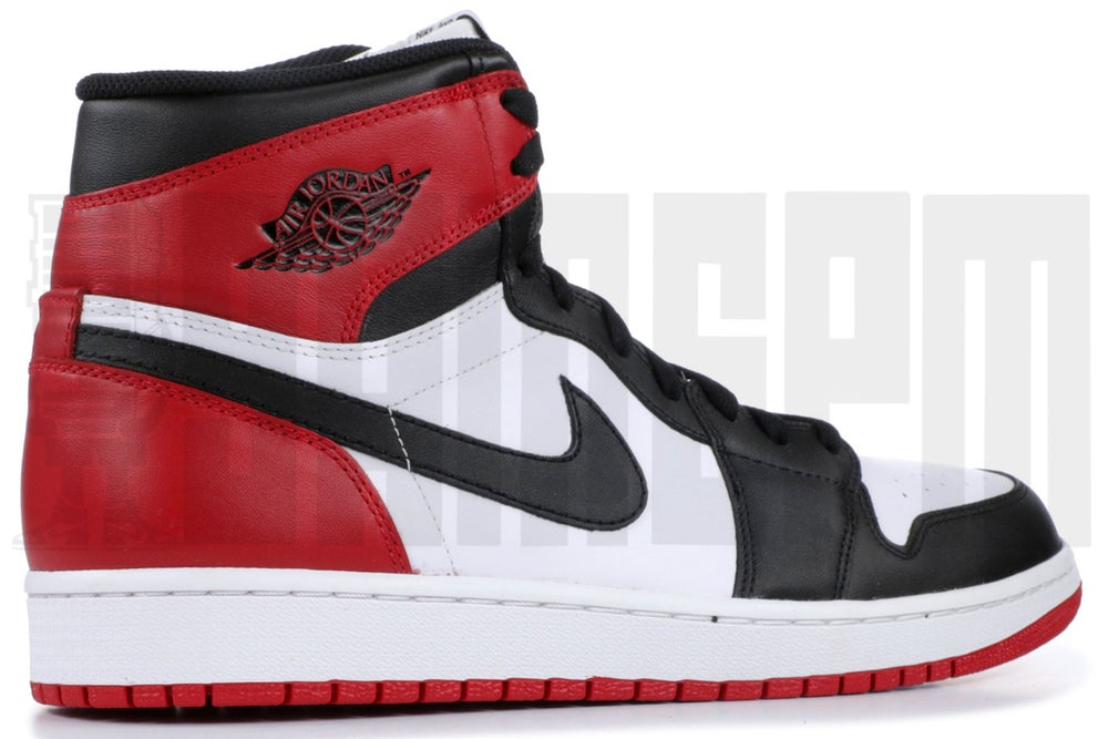 "Image of Nike AIR JORDAN 1 RETRO HIGH OG ""BLACK TOE 2013"""