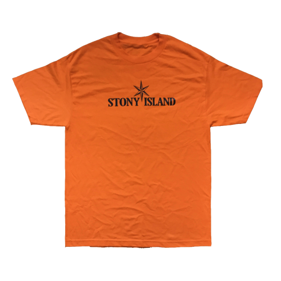 Image of STONY ISLAND Short Sleeve Tee (Orange)