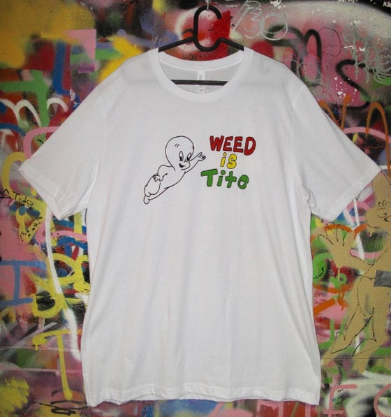 Image of Casper Weed is Tite Tee