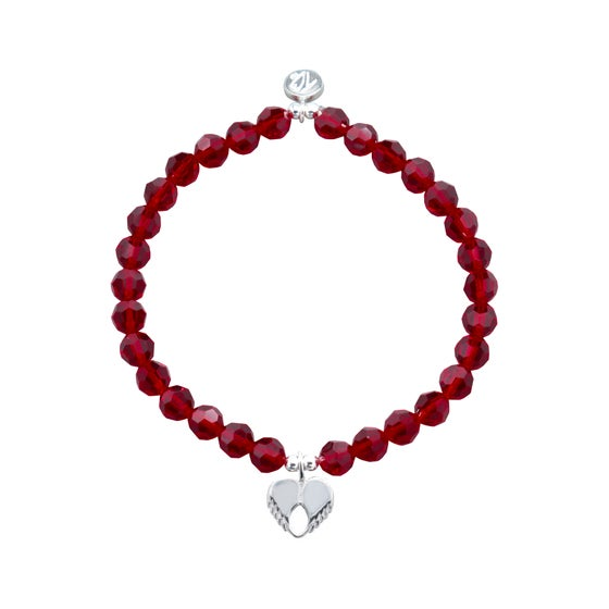 Image of NEW Passion Swarovski Crystal Dainty Love Bracelet