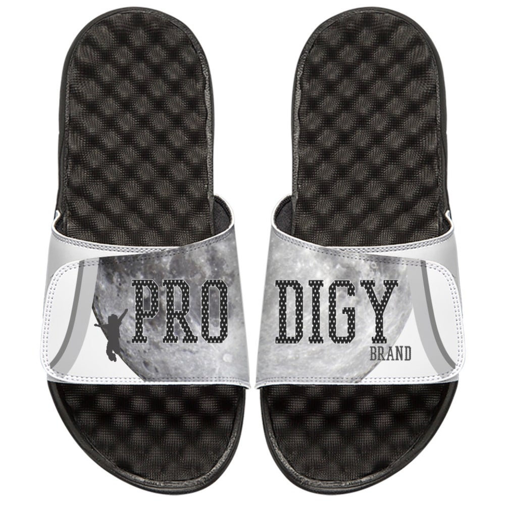 Brand Prodigy Signature Slide Black/White/Grey