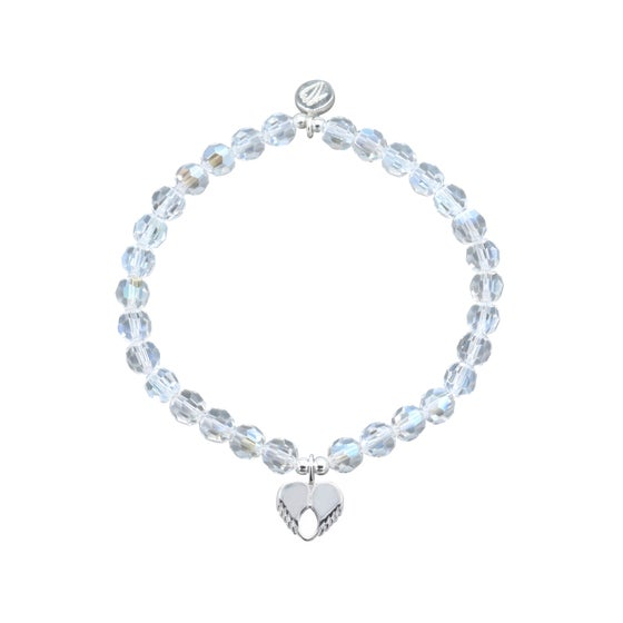 Image of NEW Faith Swarovski Crystal Dainty Love Bracelet