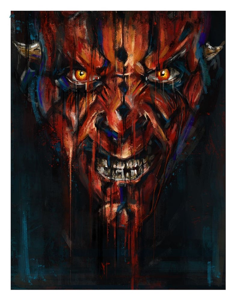 Image of Star Wars Canvas Prints - Arist Proofs