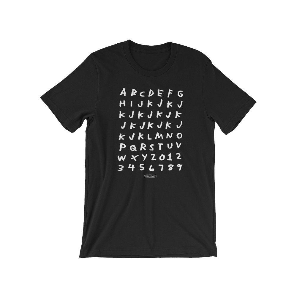 Image of Alphabet T-Shirt