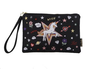 Image of Unicorn Wish Woven Pouch