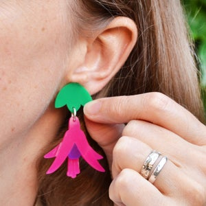 Image of Fuchsia Earrings