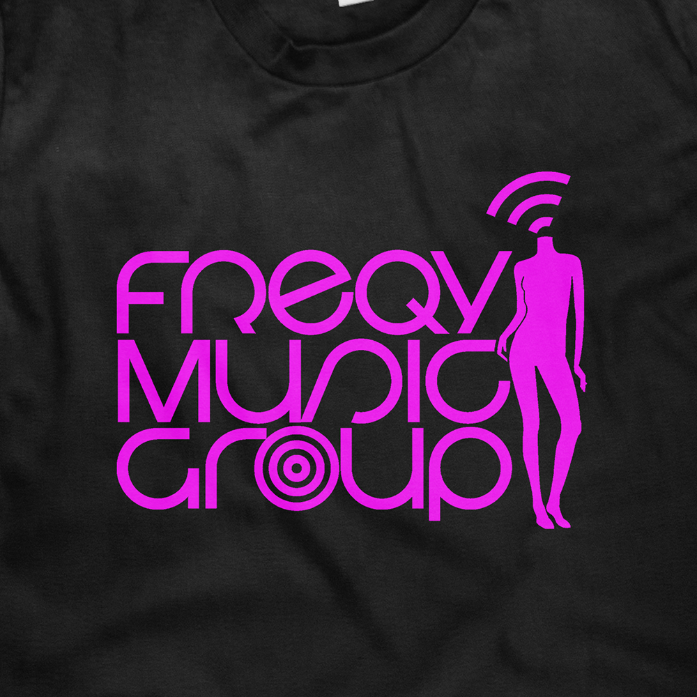 Image of Freqy Music Group Official Logo T Shirt