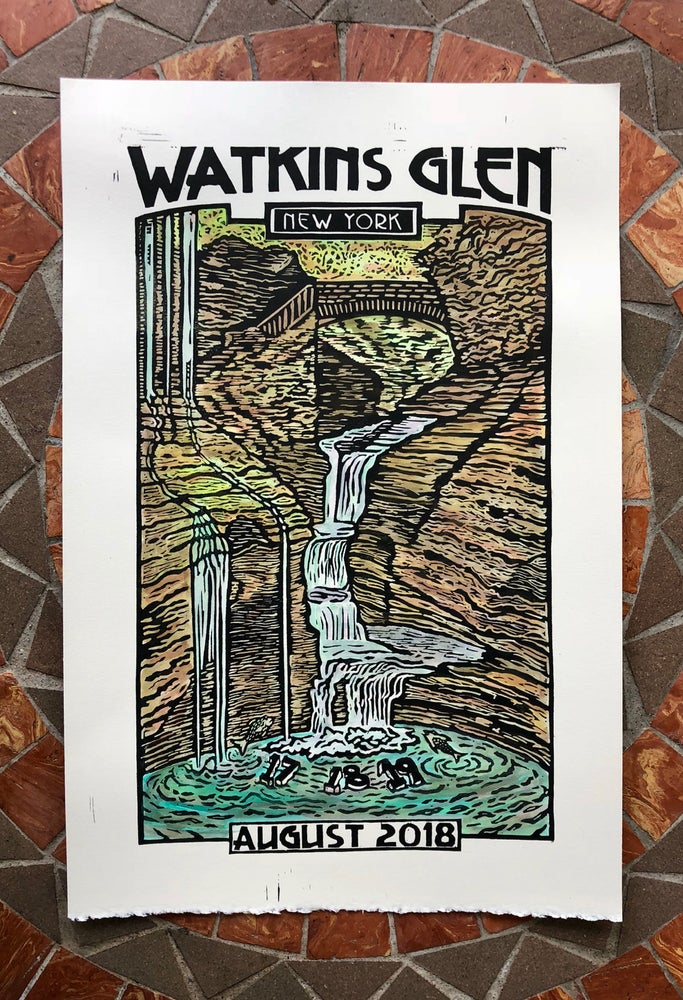 Image of Watkins Glen print